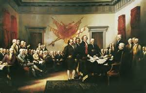 Signing of the Declaration of Independance